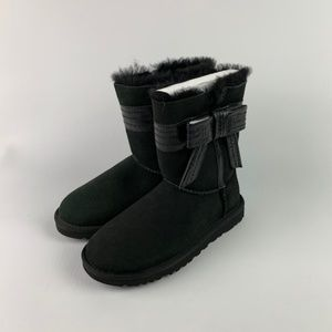 UGG Shoes - UGG Australia Women's Josette Black Bow Boots NIB